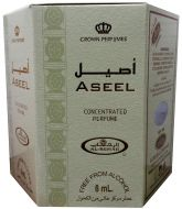 6 x Aseel Perfume Oil by Al-Rehab (Crown Perfumes) 6 ML