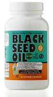 Black Seed (Black Cumin) Oil Softgel- 90 Softgels