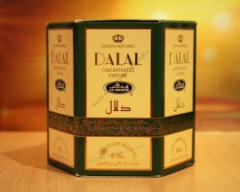 Dalal By Al Rehab Perfume Oil Box of 6