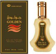 GOLDEN 35ML ORIENTAL PERFUME SPRAY BY AL REHAB