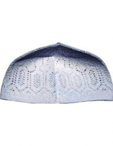 Islamic Kufi Prayer Cap,Kufi, Kufis- White-L