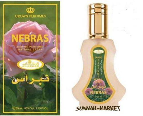 Nebras 35 ml  Natural Spray By Al Rehab