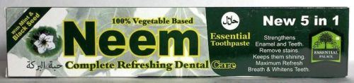 Neem Essential Toothpaste (New 5 in 1) Big 6.5 OZ