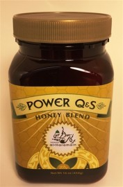 Power QS Nutritional Honey Blend 16 oz.