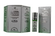 Silver 6ml by Al Rehab  Perfume Oil/Attar/Ittar Box of 6