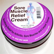 Sore Muscle/Arthritis Cream 5.5 oz
