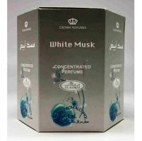 White Musk 6ml By Al Rehab Oriental Concentrated Perfume Oil BOX OF 6